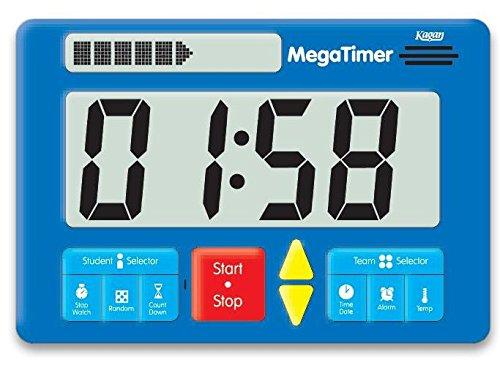 Preisvergleich Produktbild Zeitdauer-Uhr Digital Mega