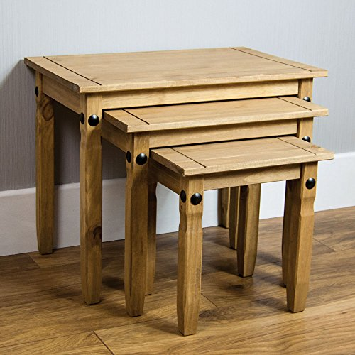 home-discount-corona-nest-of-tables-solid-pine-wood