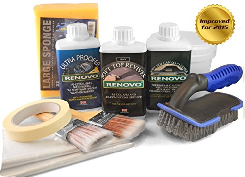 renovo-black-convertible-hood-soft-top-cleanerreviver-proofer-complete-kit-with-brushes-etc-by-milla