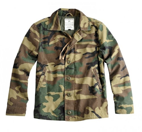 Alpha Industries Jacket Authentic Utility Jkt woodl.-camo