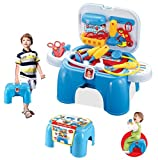 #4: Halo Nation High Quality Carry Along 2 in 1 Doctor Play Set Doctor Toys Set Children Kids Cosplay Medicine Suitcase Toys Best Gifts
