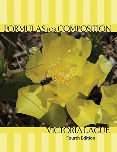 Formulas for Composition by LAGUE VICTORIA