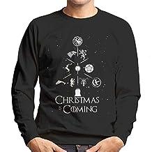 Sigil Christmas Is Coming Tree Game Of Thrones Men's Sweatshirt
