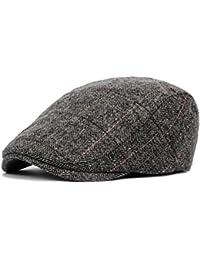Dfghbn Sombrero de Boina de Mediana Edad y otoño e Invierno para Hombre  Gorra para Hombre ae862fff696