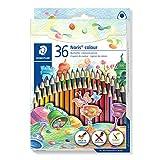 STAEDTLER 187 CD36 ST Noris Colour Buntstift (erhöhte Bruchfestigkeit,...