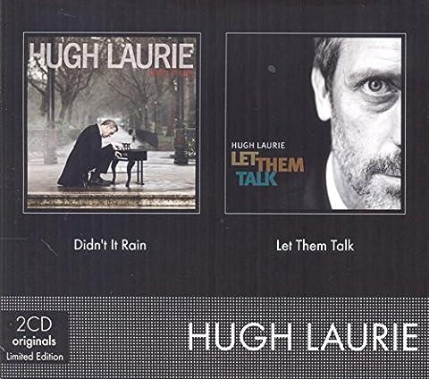 Coffret 2CD (Didn't it Rain & Let them Talk) by Hugh Laurie