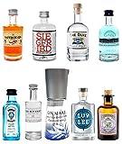 Mini Gin Probierset - 9 verschiedene Gin Sorten