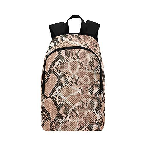 Unterschiedlicher Schlangenhaut-beiläufiger Daypack-Reisetasche College School-Rucksack für Männer und Frauen -