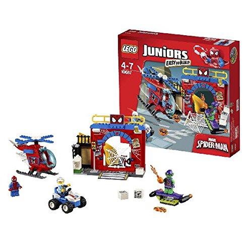 LEGO - La Guarida de Spider-Man, multicolor (10687)