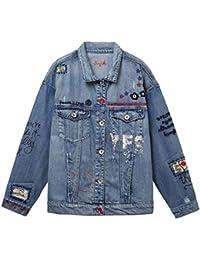Abbigliamento it E Cappotti Desigual Giacche Amazon Donna wYqv17 16c8acc5be44