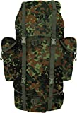 normani 1000D Bundeswehr Serie Trekkingrucksack Taktischer Rucksack Kampf Rucksack ursprünglicher BW Flecktarn Design