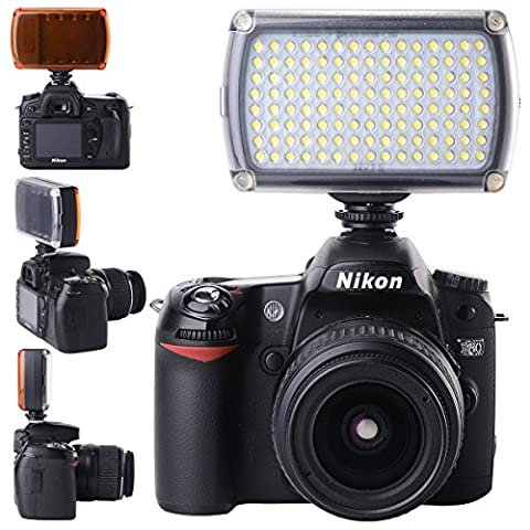 XCSOURCE-Lmpara-Luz-120-LED-9W-Video-Estudio-Panel-Zapata-Regulable-para-Videocmara-Cmara-DSLR-Canon-Nikon-LF645