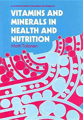 [(Vitamins and Minerals in Health and Nutrition)] [By (author) M. Tolonen] published on (June, 1990) par M. Tolonen