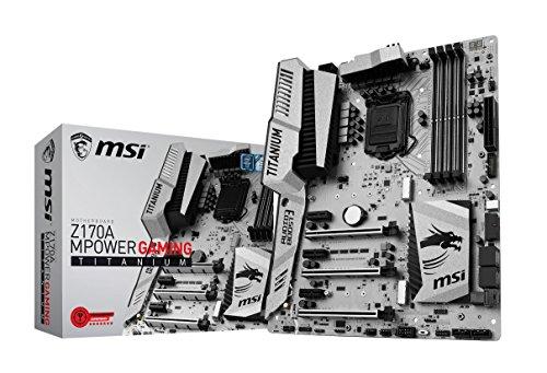 MSI Gaming entusiasta scheda madre Z170