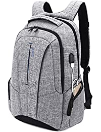 4a8261a9d8bb8 DTBG 17 Zoll Laptop Rucksack mit USB Anschluss Business Backpack  Schulrucksack Reise Tasche Uni Studenten Daypack für 17-17