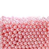 lzndeal Perles Roses pour Boîte de Rangement Organisateur Maquillage pour Pinceaux Transparent en Acrylique 1300pcs