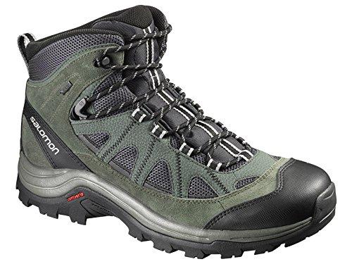 Salomon L39040900, Stivali da Escursionismo Alti Uomo