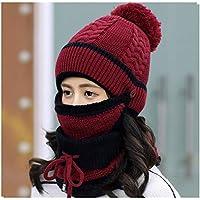 HHF Caps e Cappelli 2018 Wild Knit Hat Inverno Femminile Spessa Calda  Bombetta Cappello Coreano Tendenza e6917377e3eb