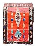 Trendcarpet Tappeto Berberi dal Marocco Boucherouite 180 x 140 cm