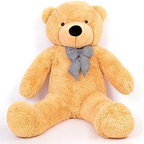 More Gentle-120cm marrón rellenas luz oso XXL