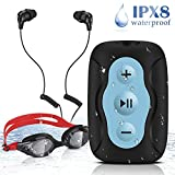 Reproductor MP3 Acuático AGPTEK S33B de 8 GB