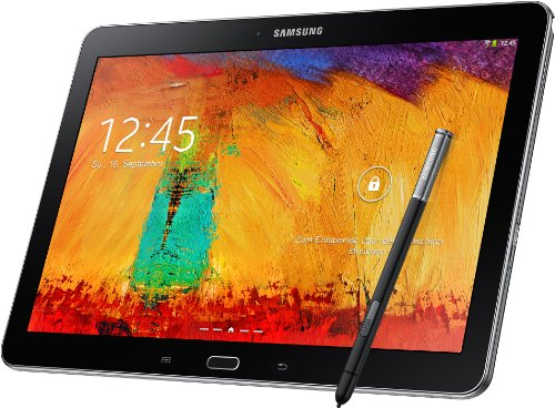 Samsung Galaxy Note 10.1 2014 Edition Tablet (25,7 cm (10,1 Zoll) Touchscreen, 3GB RAM, 8 Megapixel Kamera, 16 GB interner Speicher, LTE, Android 4.3) schwarz (Samsung Galaxy Note Fall 10)