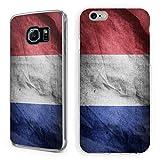 Handyhülle Flaggen iPhone Hardcase Germany France Polen Türkei Spanien Holland, Handymodell:Apple iPhone 5/5S/SE, Hüllendesign:Design 3 | Hardcase Klar
