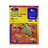 Carta A4 135gm (Lucido Adesivi Premium Foto Professionale Finitura) 25 Foglio di Confezione (210 x 297 mm) iCHOOSE
