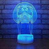Die besten Verkauf von Tischleuchten - Shuyinju Verkauf Led Geschenk 3D Lampe KreativeAcryl Nacht Bewertungen