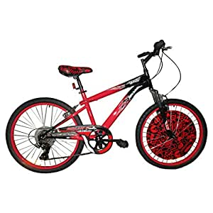Hot Wheels 24 Inch Cycle (6 Speed Shimano Gear)