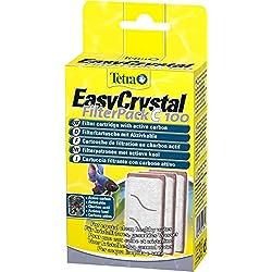 TETRA EasyCrystal FilterPack C100 - Cartouches de Filtration pour Aquarium Cascade Globe - 3 Cartouches