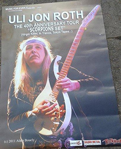 Uli Jon Roth-scorpioni, 70 x 100 cm-Poster locandina