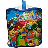 IndusBay Educational Building Blocks 50 Piece Multicolor Learning Block Set For Kids