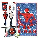 Artesania Cerda Neceser Set Aseo/Viaje Spiderman Bolsa de Aseo, 23 cm,...
