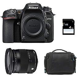 NIKON D7500 + Sigma 17-70 Contemporary + Sac + SD 4 Go