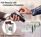 (12x) Protectores de Bloqueo para Prevenir RFID – Fundas para Tarjeta de Crédito, Débito y Tarjeta de Identificación – Protector de Pasaporte - Ideal para Tu Cartera y Billetera – Protección 100% de RFID & NFC – Elegante Aluminio
