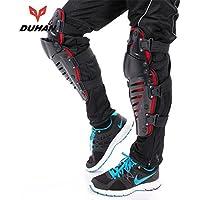BulkCosts (TM) DUHAN Motocross Off Road Racing-Ginocchiere di protezione moto ginocchio equitazione Sports Outdoor Gear protezioni MX-Ginocchiera