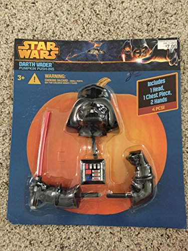 Star Wars Darth Vader Pumkin Push ins für Kürbis Dekoration Halloween