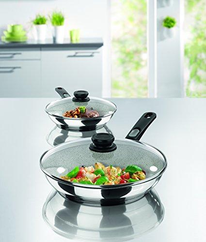 Bratmaxx Edelstahl Keramik- Hochrandpfannen Premium - 2