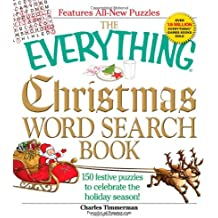 The Everything Christmas Word Search Book: 150 festive puzzles to celebrate the holiday season!