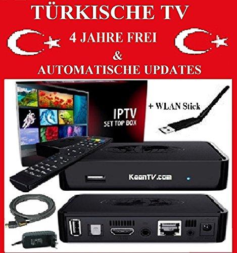 IPTV 150 TÜRKISCHE TV SENDER 4 JAHRE FREI & TOP QUALITÄT - IPTV TÜRK KANALLARI TÜRK + ALMAN TV KANALLARI DONMA YOK & 4 SENE IZLE & OTO GÜNCELLEME & SÜPER KALITE HD + KEINE CHINA WARE SONDERN EU !!!!