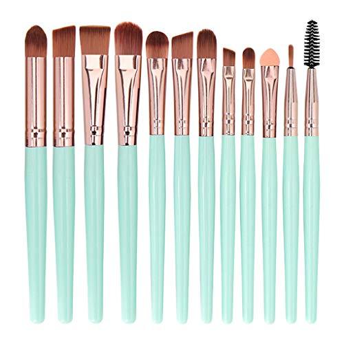 Make up Pinsel Set 12 Stück/Dorical Professionellen Schminkpinsel Kosmetikpinsel Gesichtspinsel...