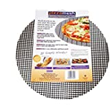 Re-usable Pizza-mesh, Gives all round crispness to your pizza
