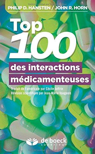 Top 100 des interactions médicamenteuses : Guide de la prise en charge du patient