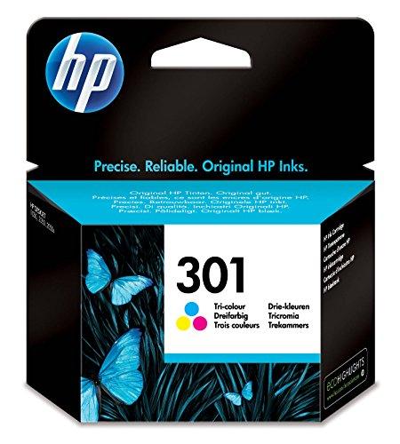 HP CH562EE Cartuccia 301 Getto d'Inchiostro, Volome 3 ml, Tricromia