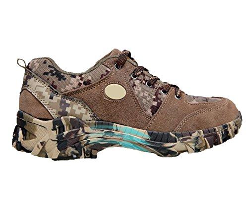 WZG Männer neue Herbst-Schuhe atmungsaktive Mesh-Outdoor Wanderschuhe Sportschuhe der Männer Schuhe Spitze läuft desert camouflage