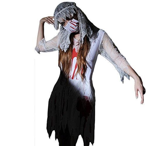 Fxwj Halloween Kostüm Teufel Braut Frauen Fancy Dress Zombie Alley Erwachsene Cosplay Dessous Babydoll Plus Size