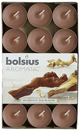 Bolsius Duft Teelichte (30er Pack) - Sandelholz (Sandelholz-kerzen)