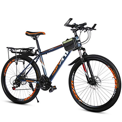 WY-Tong Velo Fille Mountain Bike Vitesse Double Frein à Disque étudiant Adulte Voiture Hommes et Vitesse Variable Montagne