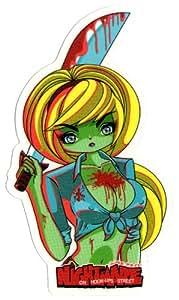 Hook Ups Skateboard Sticker Nightmare Sword New - Japanese Anime / Manga / Animation / Cartoons Skateboarding hook-ups hookups